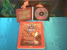 1994 Aces over Europe game + Strategy Guide by Sierra for PC * free shipping
