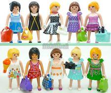 Playmobil 10 mannequins centre commercial Boutique Femmes Fille Figure Robe Sac