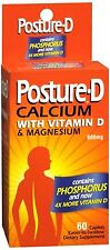 Posture-D Caplets 60 Caplets - 4 Pack