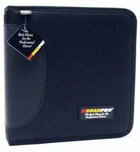 RoadPro LB-004BK Black 3-Ring Binder for Loose-Leaf Log Sheet