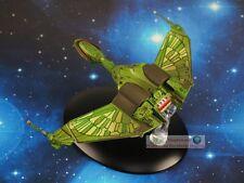 Eaglemoss STAR TREK Klingon Bird of Prey Druckguss Metall Modell Raumschiff A613
