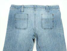 Armani Jeans Indigo SERIE 006 Da Donna Jeans Bootcut Tg UK 12 W32 L30 Basso Girovita
