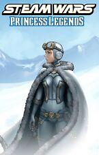 STEAM WARS PRINCESS LEGENDS #1 Antarctic Press NM- Comic - Vault 35
