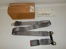 New OEM 1995-1997 Isuzu Rodeo Honda Rear Right Center Seat Belt Receiver Gray