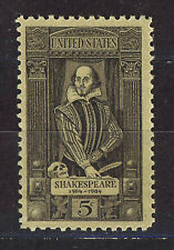 ESTADOS UNIDOS/USA 1964 MNH SC.1250 W.Shakespeare