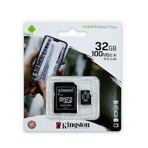 Kingston Memory Card 32GB Micro SD SDHC TF for Samsung J3 J5 J6 J7 S8 S9 S7 edge