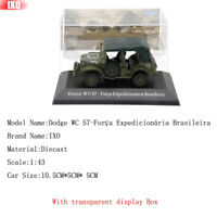 IXO 1:43 Dodge WC 57-Força Expedicionária Brasileira Diecast Toys Models Limited
