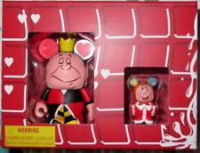 "Queen of Hearts 3"" & King Jr Disney Vinylmation Combo Box Set Alice n Wonderland"