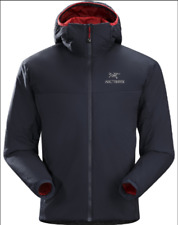 Mens Arc'Teryx Full Zip Hoody Jacket XL Charcoal and Burgundy (price drop)