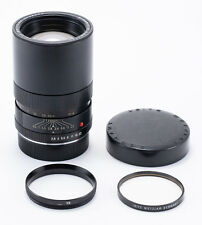 (54) Leica Elmarit-R 135/2.8 3 cam lens w/caps, 14161R ring + UVa filter L@@K