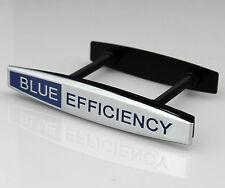 Auto Zink-Legierung Chrom Grill Frontgrill Abzeichen Emblem für BLUE EFFICIENCY
