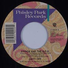 PRINCE & NPG: Get Off / Horny Pony PAISLEY PARK 45 Rare Stock NM