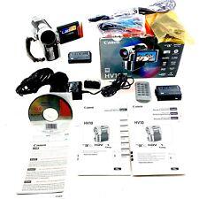 Canon HV10 HDV Camcorder Kit 1080i Mini DV PAL 1080i HD Camera System Handycam