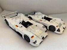Bmw V12 LMR 1/18 Kyosho 1999 Maqueta Jenny Holzer Le Mans Pack X2 N16 1:18