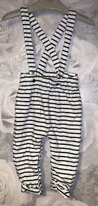 Boys Age 6-9 Months - My K - Lovely Soft Dungarees