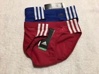 "Adidas Infinitex men's swimwear briefs, sizes 32"", 34"" & 38"""