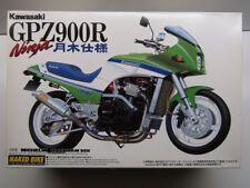 """Aoshima 1:12 Scale Kawasaki Gpz900R Ninja """"Tsukigi Racing"""" Model Kit - New"""