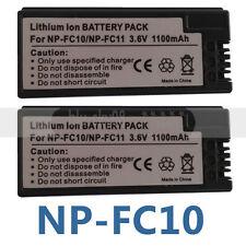 2pk Battery FOR SONY NP-FC11 NP-FC10 Cyber-shot DSC-V1 DSC-P10 Digital Camera