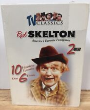 RED SKELTON TV CLASSICS USED SET 2 DVD'S 10 HILARIOUS EPISODES FAMILY COMEDY