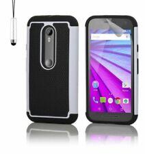 Fundas y carcasas blancos Para Motorola Moto E para teléfonos móviles y PDAs Motorola