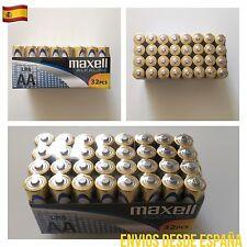 32 Pilas Blister MAXELL AA LR6 MN1500 Alkaline Battery alcalina Original 1.5V