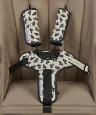 Keep Me Cosy® Harness Covers + Buckle Cosy* for Prams, Strollers - Navy Boat