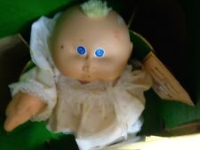 Vintage CABBAGE PATCH DOLL PREEMIE MARCH of DIMES LUCIE FELIZA with Box & Papers