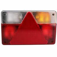Trailer Caravan Right Light Rear Lamp Reverse & AJBA 6 PIN Plug Indespension