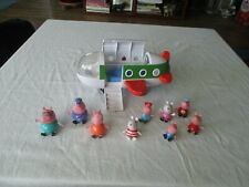 Peppa Pig talking Plane & 9 Figures Lot Toys