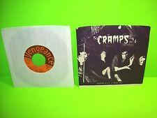 "The Cramps – Human Fly 7"" Vinyl Record 1978 Punk Rockabilly Vengeance Rare"