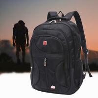 Waterproof 15.6'' Men Laptop Backpack Outdoor School Bag Travel Rucksack Satchel