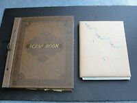 Set of (2) -Scrapbook 1930s/40s, Children's Stuff &1944 All Her Life Booklet.