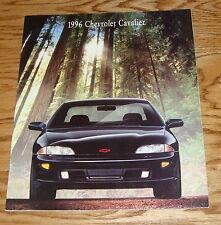 Original 1996 Chevrolet Cavalier Sales Brochure 96 Chevy