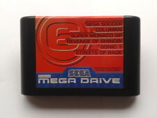 JUEGO SEGA MEGA DRIVE M6 MEGA GAMES 6 STREETS OF RAGE Y MAS PAL SOLO CARTUCHO