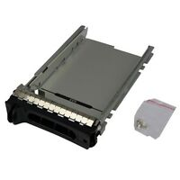 """Dell F9541 3.5"""" SAS SATA Tray caddy NF467 H9122 G9146 MF666 for 1900 T300 MD3000"""
