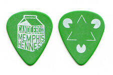 Candlebox Sean Hennesy Memphis Hennesy Green Guitar Pick - 2013 Tour
