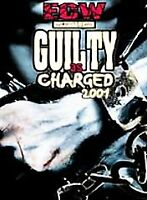 Rare HTF GUILTY AS CHARGED 2001 ECW wrestling dvd Out of Print WWE WWF