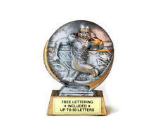 Football, Male Trophy- Cast Resin- Touchdown- Desktop Series- Free Lettering