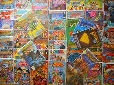 50+ ALL VINTAGE 80S & 90S DC LOT! DETECTIVE/CRISIS/SUPERMAN/SHAZAM/HAWK & DOVE +