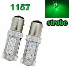 Strobe Rear Signal 1157 2057 2357 3496 7528 BAY15D P21/5W 92 LED Green M1 MAR