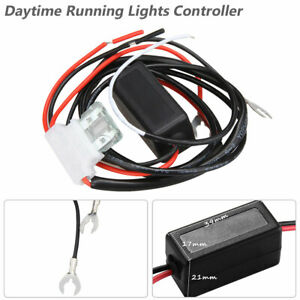 DRL Car Led Daytime Running Light Automatic ON/OFF Control Module Switch Relay