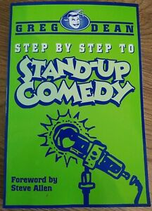 Step by Step to Stand-up Comedy by Dean, Greg Paperback Book Guide