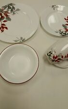 Corelle kyoto leaves 16 piece round dinnerware set, plates, dishes corningware