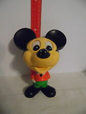 Vintage 76 Mickey Mouse Chatter Chum Mattel Pull String Talking Toy Works!