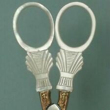 Antique Palais Royal Mother of Pearl Scissors * French * Circa 1810-20