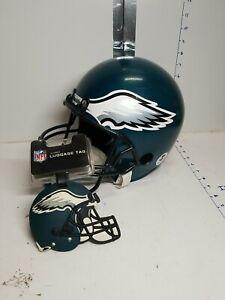 Philadelphia Eagles Franklin Display Helmet , NFL Luggage Tag