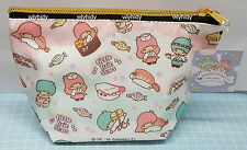 Sanrio Little Twin Stars Polyester Zip Bag #1 Japan Limit  , h#4