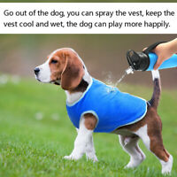 Summer Cool Jacket Coat Vest T-shirt Clothes Clothing For Dog Puppy Pet XS-L