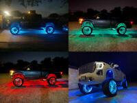 15.5'' LED Wheel Ring Light RGB Multiple Colorshifting Bluetooth Brake Function