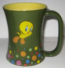 3D Tweety Bird Green Coffee Mug  Cup Warner Brothers Bros. Tindex